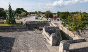 Bacalar - Vue de la Forteresse espagnole