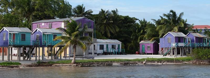 Arrivée à Belize dans une ambiance 100% Caraïbes!