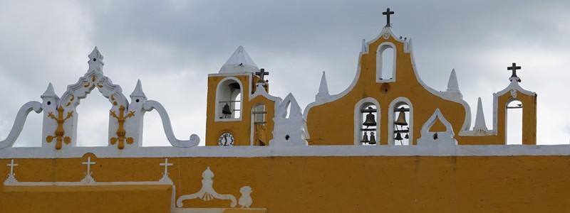 Fête de la Vierge à Izamal, la Ville jaune duYucatan