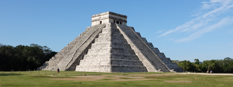 Dans les ruines mayas de ChichenItza…
