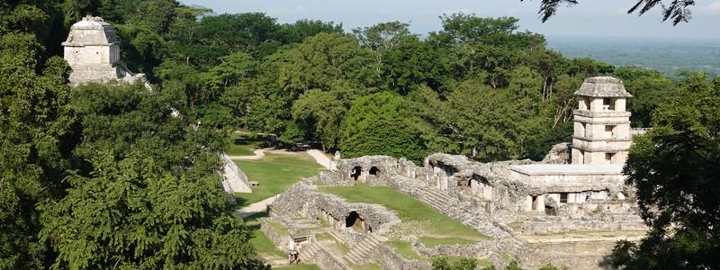 Balade dans les ruines mayas dePalenque