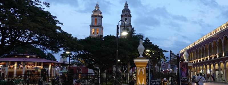 Vingt-quatre heures à Campeche, une jolie petite villecoloniale