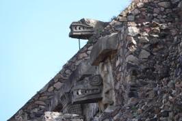 Site archéologique de Teotihuacan - Temple du Serpent à Plumes