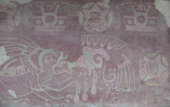 Site archéologique de Teotihuacan - Palais de Quetzal-Papalotl