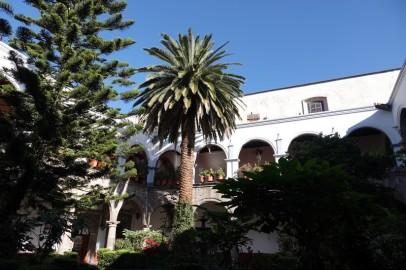 Coyoacan - Eglise San Juan Bautista - Cloitre