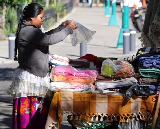 Coyoacan - A l'extérieur du Marché central
