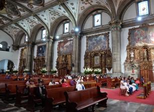 Coyoacan - Eglise San Juan Bautista