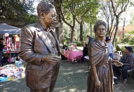Coyoacan - Frida Kahlo et Diego Riveira
