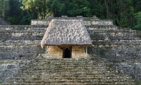 Site archéologique des ruines de Palenque - Templo XIII - Tombe de la Reine
