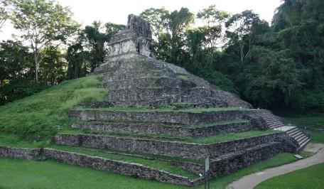 Site archéologique des ruines de Palenque - Templo de la Cruz