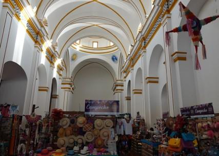 Campeche - Ancienne église reconvertie en centre artisanal