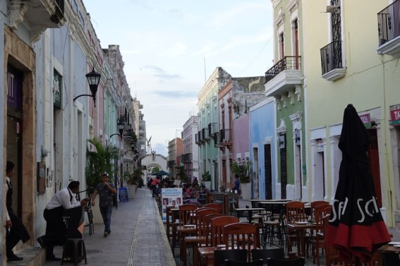 Campeche - Rue principale