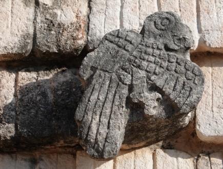 Uxmal - Quadrilatère des Oiseaux
