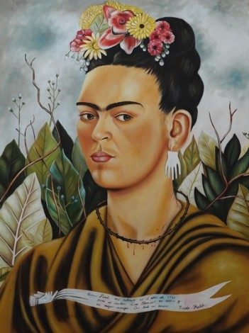 Merida - Restaurant, reproduction de Frida Kahlo