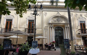 Mérida - Calle 60 - Plaza Hidalgo, le restaurant où on dinera le soir