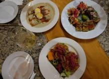 Mérida - Nuit Blanche - Notre diner