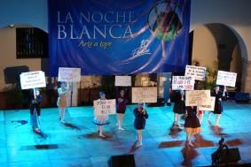 Mérida - Nuit Blanche - Spectacle de danse sur la liberté de la presse