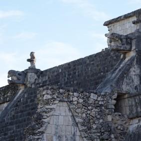Chichen Itza - Site archéologique - Temple des Guerriers