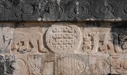 Chichen Itza - Site archéologique - Terrain de Jeu de Pelote - Jaguars