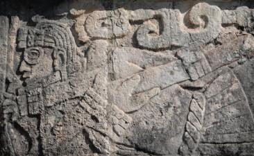 Chichen Itza - Site archéologique - Guerrier