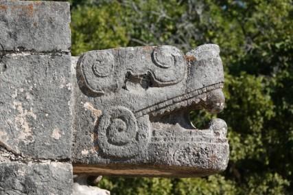 Chichen Itza - Site archéologique - Serpent à plumes
