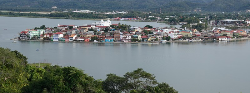 Premiers jours au Guatemala, àFlores