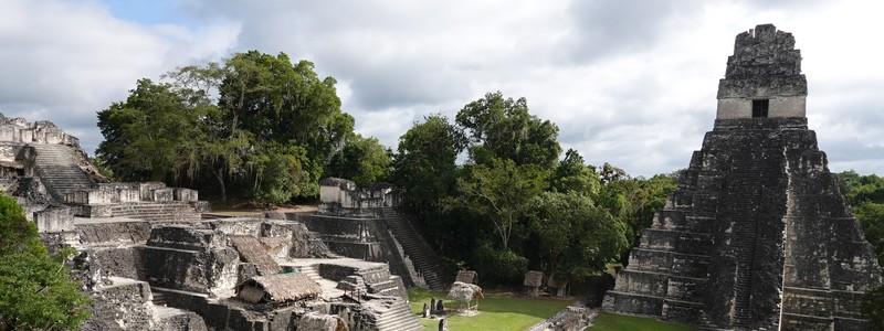 Belle balade à Tikal, au milieu de ruines mayas noyées dans lajungle