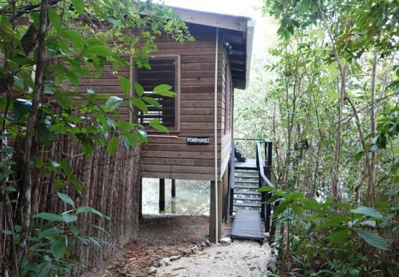 Lodge du Zoo de Belize - Notre maison...