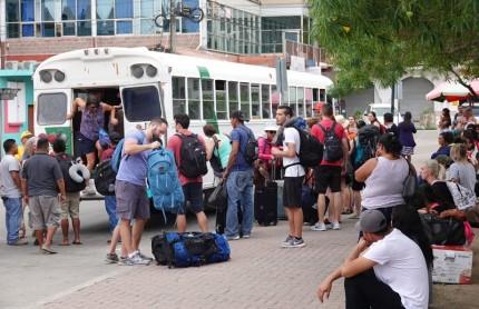 San Ignacio - Gare routière !