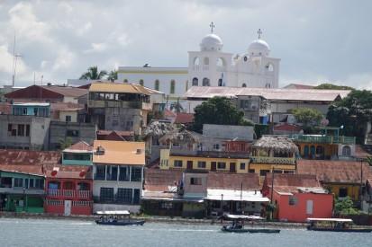 Flores / San Miguel - Vue sur Flores depuis l'hôtel