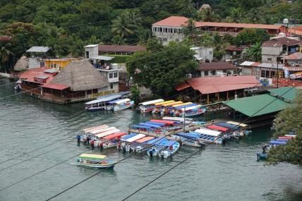 Rio Dulce - Vue du pont...