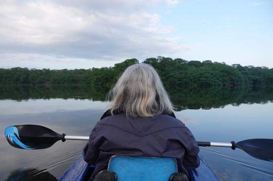 Barra Lampara - Balade en kayak dans le Biotopo Chocos Machacas