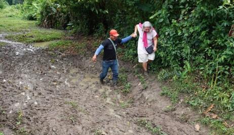 Barra Lampara - Rando vers le village maya Gran Plan Tatin - Ca glisse un max !