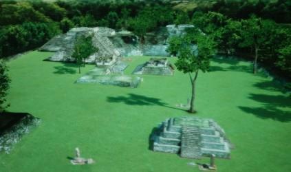 Museo Digital de Copan - Présentation multimédia d'un reconstitution des ruines