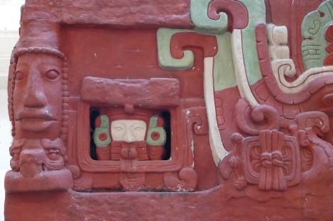 Site archéologique des Ruines de Copan - Musée des Sculptures - Réplique du temple Rosalila