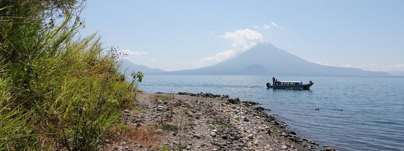 Petite rando sur les hauteurs de Panajachel et farniente au bord du lac!