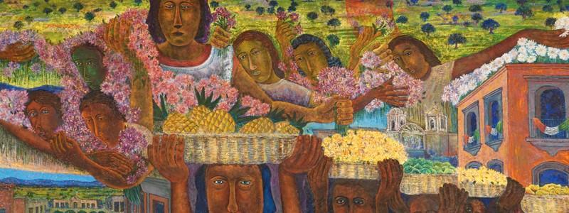 Un dimanche à Oaxaca sous le signe del'art…