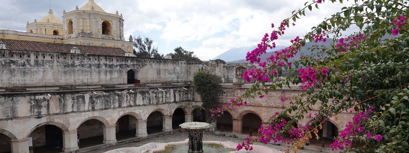 Retour au Guatemala et première balade dansAntigua