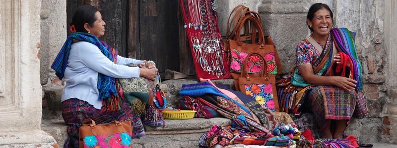Toujours à Antigua, entre ruines et artisanatlocal