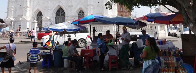 A Santa Ana, une ancienne ville coloniale duSalvador
