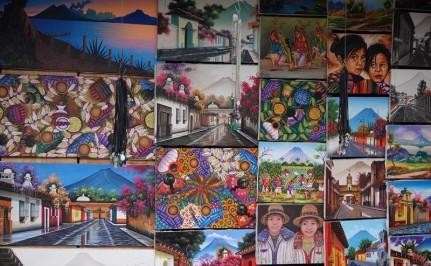 Antigua - Marché artisanal