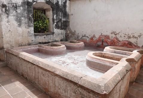 Antigua - Couvent des Capucines - Lavoir