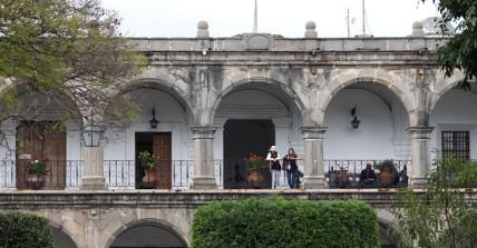 Antigua - Parque Central - Palacio de los Capitanes