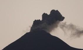 Antigua - Vue sur le volcan Fuego