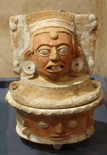 Antigua - Centre de formation de la coopération espagnole, ex-compagnie de Jésus - Expo temporaire maya