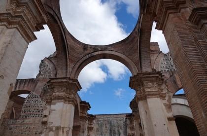 Antigua - Ruines de la Cathédrale
