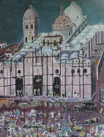 Antigua - La Cathédrale avant 1773