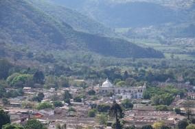 Antigua - Vue depuis le Cerro de la Cruz
