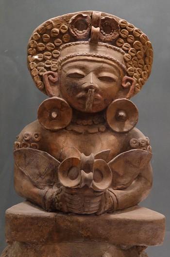 Antigua - Couvent Santo Domingo - Poterie maya