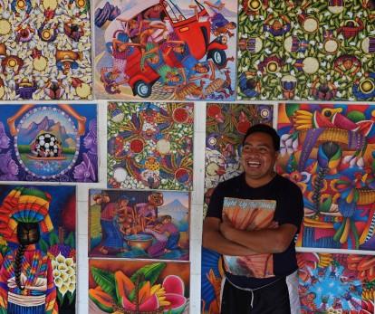 San Juan - Atelier de peintre - Diego Isaias Hernandez Mendez